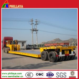 100-150 Tons Multi Lines-Axles Lowbed Heavy Duty Trailer pictures & photos