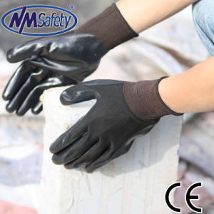 Nmsafety Good Quality Nitrile Coated Maintenance Hand Work Gloves pictures & photos