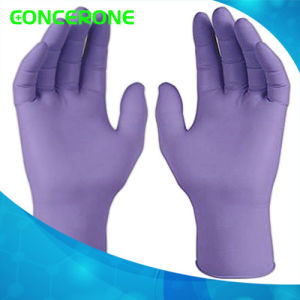 Medical Disposable Powder Free Nitrile Examination Gloves pictures & photos