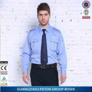 High Quality Man Security Guard Uniform Shirt of Long Sleeve pictures & photos