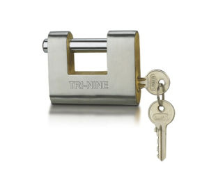 Stainless Steel Armored Padlock Brass Cylinder (BR990) pictures & photos