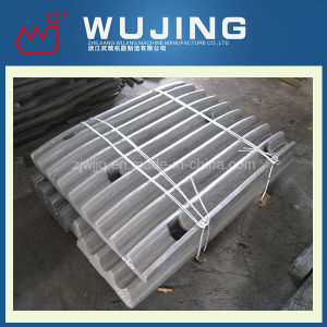 Wear Resistant Part Professional Design High Manganese Steel Cast Jaw Plates for Jaw Crushers