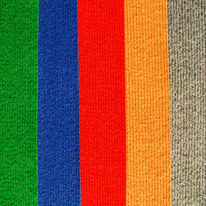 Non-Woven Polypropylene Exhibition Carpet with Latex Backing pictures & photos