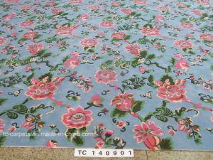 Small Flower Design for Wool Carpet