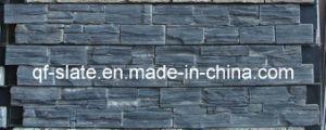 Natural Black Slate Concrete Ledgestone Panels for Exterior Wall Tile