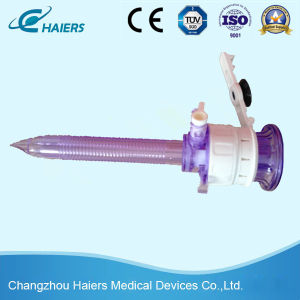 Disposable Laparoscopic Trocar Without Blade for Abdominal Surgery pictures & photos