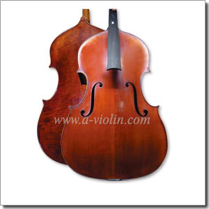 Professional Master Workmanship High Grade Handmade Flamed Double Bass (BH600) pictures & photos