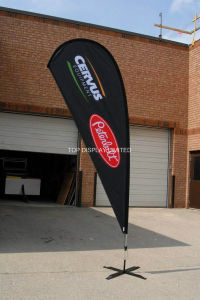 Teardrop Flag Banner Outdoor Display Stand Beach Banner pictures & photos