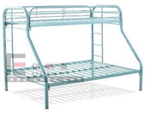 2 Person Metal Twin Over Full Bunk Bed pictures & photos