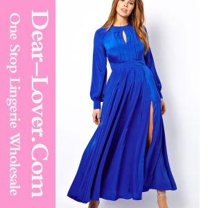 Blue Women Plus Size Long Evening Prom Maxi Dress pictures & photos