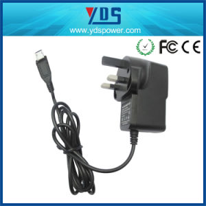 5V 1A UK Wall Plug Adapter pictures & photos