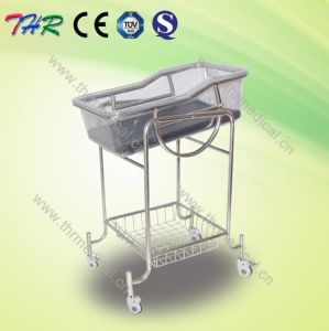 Stainless Steel Reclining Crib Bassinet (THR-RB002) pictures & photos