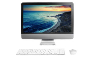 "21.5"" All in One Computer, White Color 10mm Ultrathin pictures & photos"