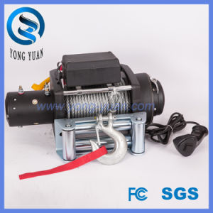 up-Down /Sliding Ring Gear/Synthetic Rope /Wire Rope Heavy Duty Electronics Winch (DH15000K)