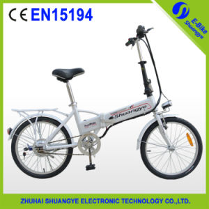 Shuangye Eletric Folding Bike A1 20 Inch pictures & photos