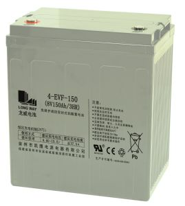 8V150ah/3hr Deep Cycle Green Energy Battery pictures & photos