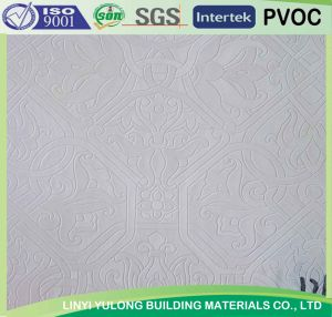 PVC Gypsum Ceiling Tile 121 pictures & photos