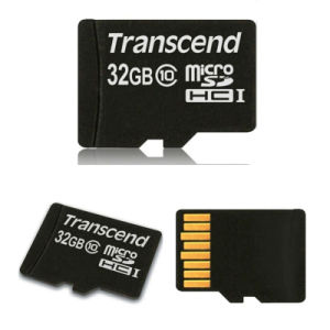 Transcend TF Card Class10 Micro SDHC Card 32GB Micro SD pictures & photos