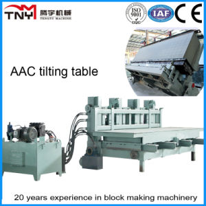 AAC Plant Light Weight Block Machine (tilting table) AAC Production Line pictures & photos