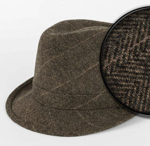 Fashion 100% Wool Fedora Tribly Hat pictures & photos