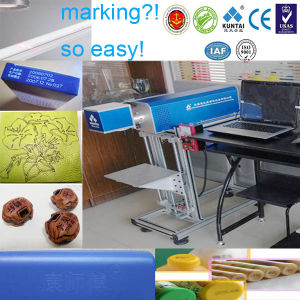 CO2 Laser Marking Engraving Machine for Rubber Tire pictures & photos