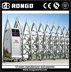 Stainless Steel Retractable Folding Barrier Gates
