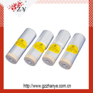 High Quality Masking Plastic Film for Car Painting Protection pictures & photos