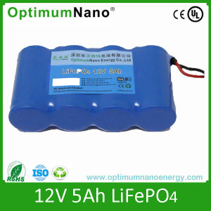 12V 5ah Lithium Battery Pack for Solar Light pictures & photos