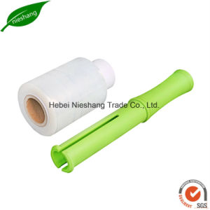 20 Micron PE Mini Roll Hand Grade LLDPE Stretch Film pictures & photos