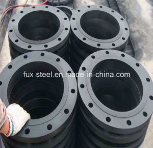 Forged Steel ANSI B16.5 Slip on Flange (black paint) pictures & photos