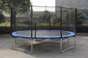New 14ft Trampoline with Enclosure pictures & photos