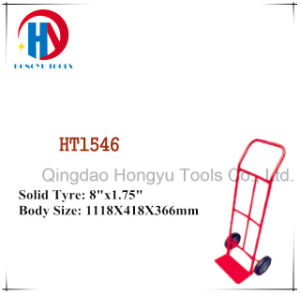Iron/ Steel/ Metal/ Cylinder Hand Trolley (HT1546) pictures & photos