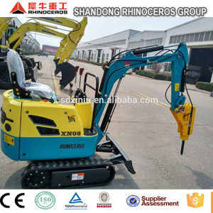 Earthmoving Equipment Excavator Attachments 0.8ton Mini Diggers for Sale pictures & photos