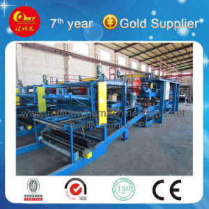Sandwich Roof Panel Colour Steel Sheet Cold Roll Forming Machine pictures & photos