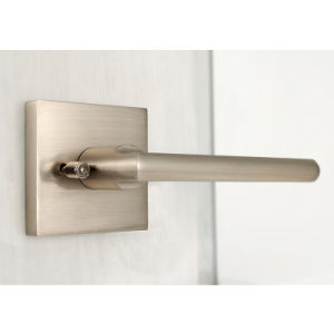 Modern Passage Lever Door Lock with Contemporary Square Rose pictures & photos