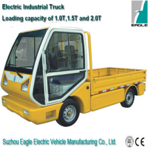 Electric Utility Truck, 1500kgs Loading Weight, Closed Cab, Eg6032h pictures & photos