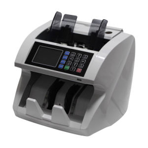 One Pocket Banknote Value Counter with Full Detection and Optional S/N Printing Function for EUR and USD pictures & photos