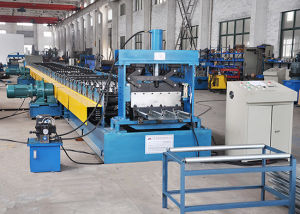 New Model CZ Profile Chaneable Steel 350mm C Z Purlin Roll Forming Machine pictures & photos