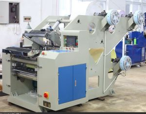 Three Ply Cash Register Paper Roll Slitting Machine Hjg-700