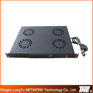 19′′ Network Cabinet Accessory 4fans Control Panel with LED Display pictures & photos
