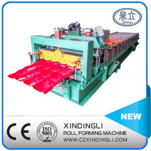 Color Steel Glazed Tile Roof Roll Forming Machine pictures & photos