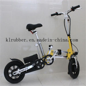 Folding Electric Bicycle with Lithium Ion Battery pictures & photos