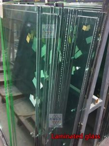 6.38mm Brown Tea Color Safety Laminated Glass pictures & photos