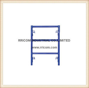 V-Style blue Powder Coated Narrow Ladders pictures & photos