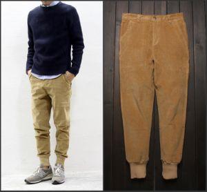Men Corduroy Casual Stripes Warm Pants pictures & photos