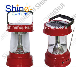 Portable Solar Lantern New Design with FM pictures & photos