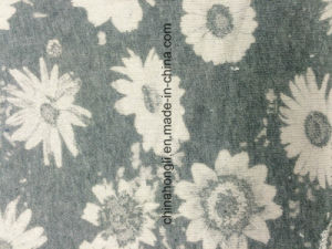 French Terry Heather&Printed Knitting Fabric pictures & photos