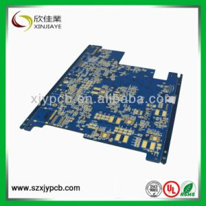 OSP Blue Color Solder Mask Rigid PCB Board pictures & photos
