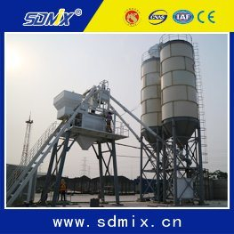 Skip Hopper Concrete Batching Plant Hzs35 pictures & photos