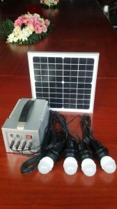 10W Solar Lantern with 4LED Lights pictures & photos